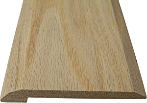 Style 4- Solid Red Oak Interior Threshold- 4 inches Width (72 inches Long)