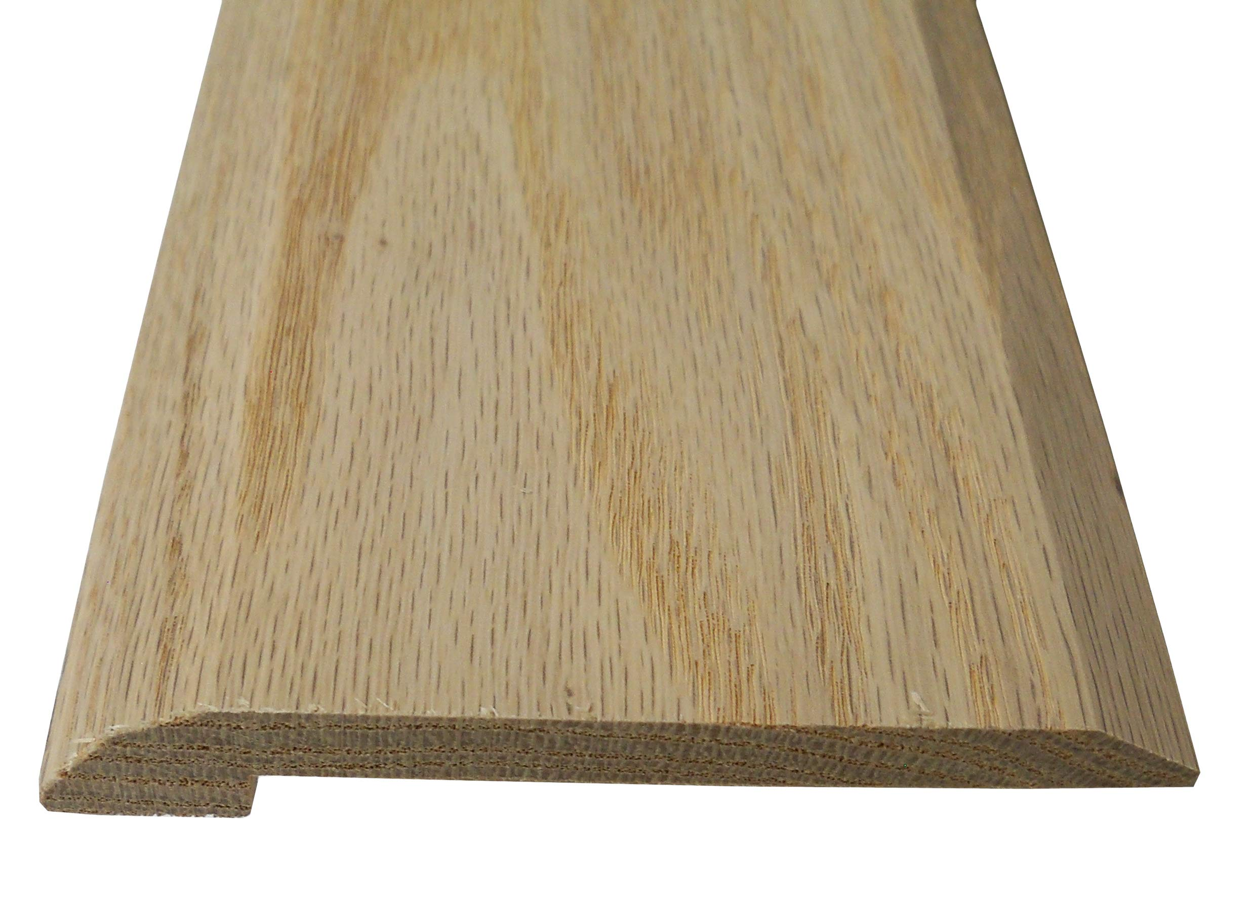 Style 4- Solid Red Oak Interior Threshold- 4 inch Width (94 inches)
