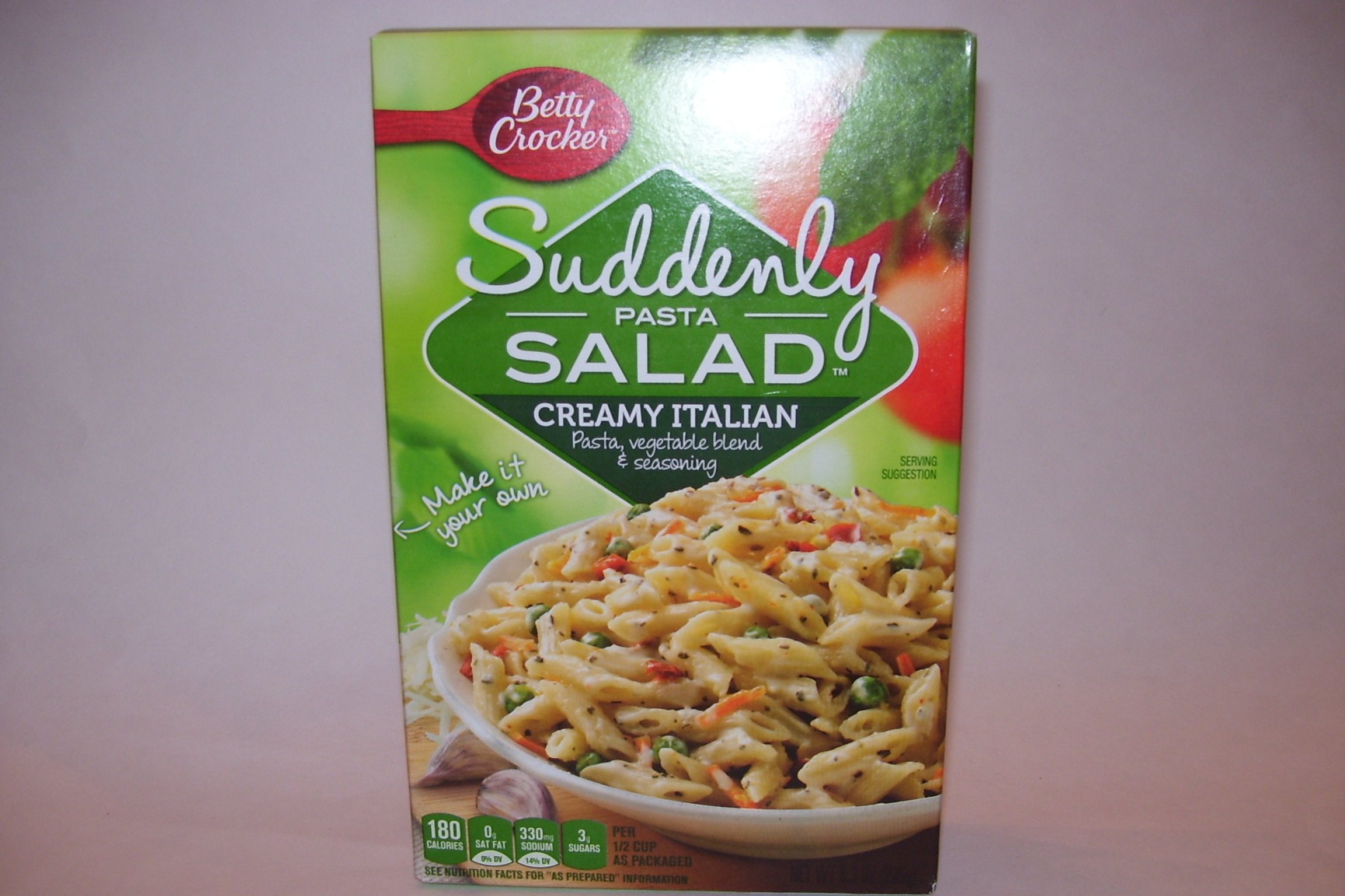 Betty Crocker Suddenly Pasta Salad, Creamy Italian, 8.3-Ounce Boxes (Pack of 4)