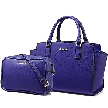Tote Bag Sac a Main Sac Femme Sac à Bandoulière Sac Desigual 2PCs,Noir