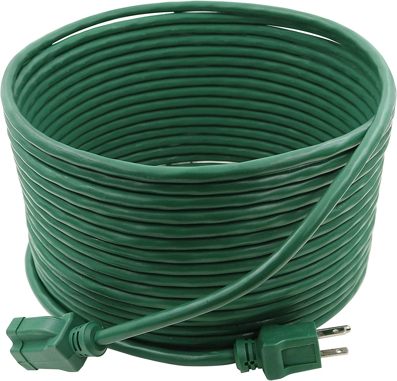Prime EC880628 40-Foot 16/3 SJTW Lawn and Garden Outdoor Extension Cord, Green
