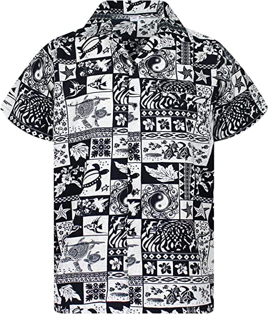 Funky Hawaiian Shirt Puzzle Red