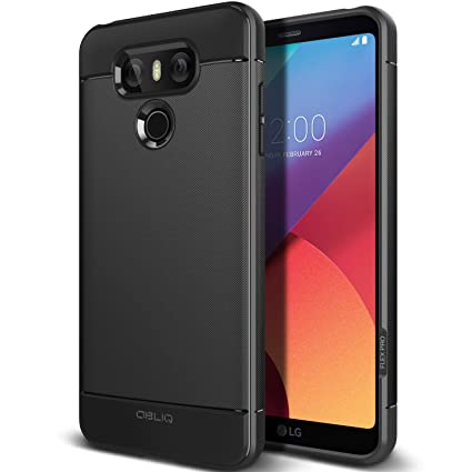 new concept 9ce4c 6cd9f LG G6 Case, OBLIQ [FLEX PRO] Extreme Heavy Duty Slim Durable and Shock  Protection Armor for LG G6 (2017) (Black)