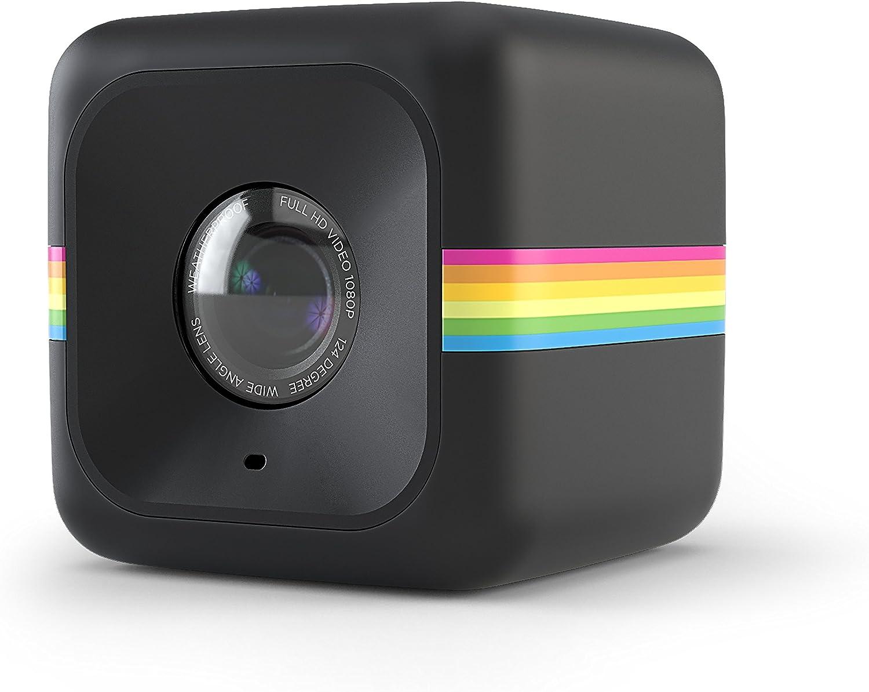 Polaroid Cube ACT II HD 1080p Lifestyle Video Camera de Accion (Negro) - Funciones actualizadas