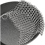 """Cast Iron Cleaner. Steel Scrubber - Cookware Cleaner For Skillet, Wok, Pot, Pan 