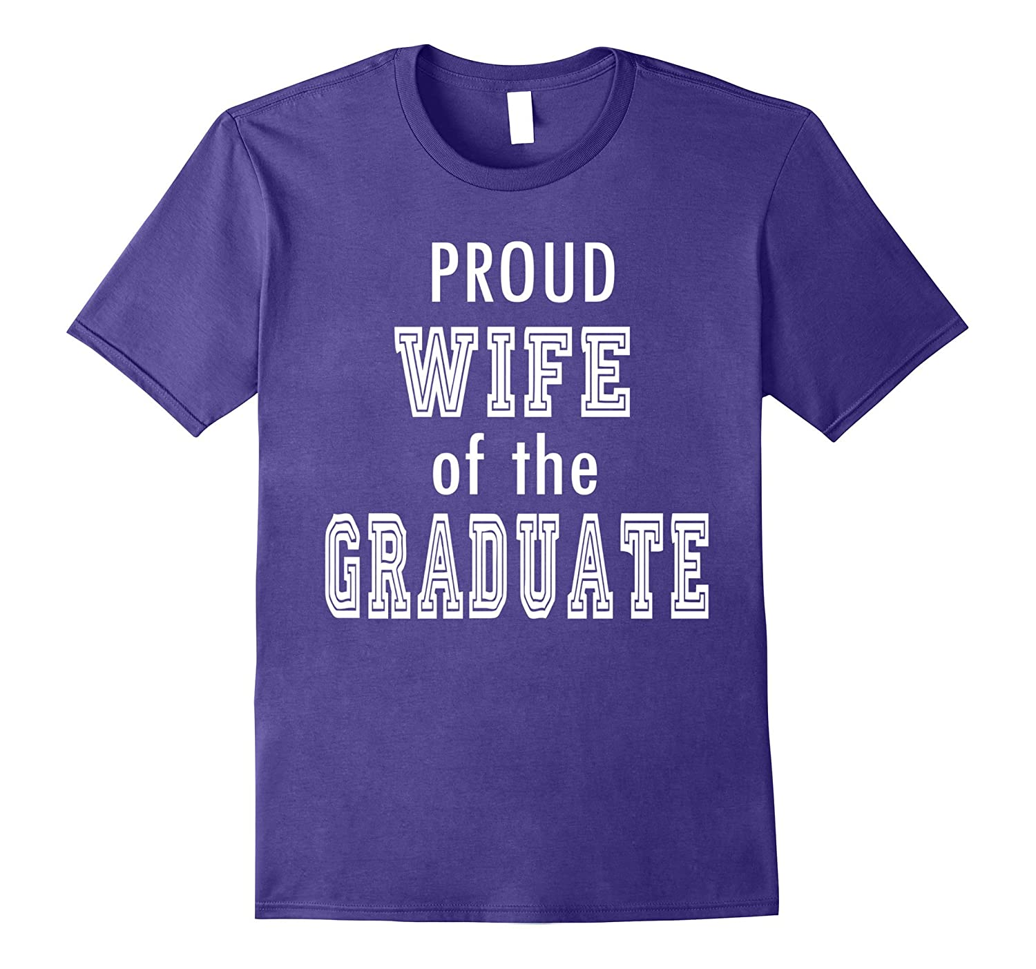 PROUD Wife of the Graduate Couple Family School Graduation-Vaci