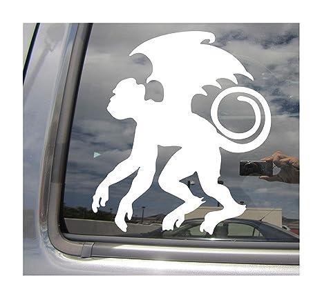 Winged Auto Window High Quality Vinyl Decal Sticker 06009 Flying Monkey