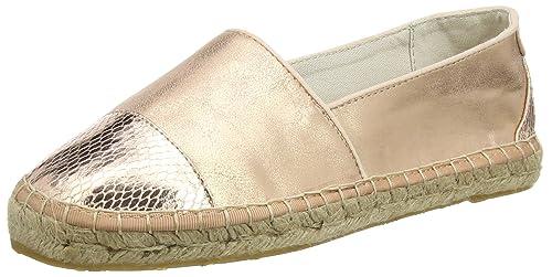 Mustang 1218-202-524, Alpargatas para Mujer, Rosa-Pink (524 Roségold), 36.5 EU: Amazon.es: Zapatos y complementos