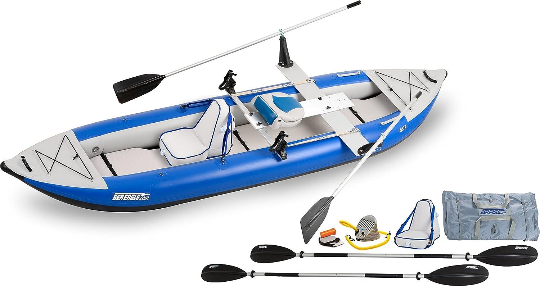 Amazon.com: Mar Eagle 420 x Explorer inflable Kayak quikrow ...
