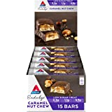 Atkins Endulge Caramel Nut Chew Bars | Keto Friendly Bars | 15 x 34g Low Carb Caramel Chocolate Bars | Low Carb, Low…