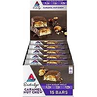Atkins Endulge Caramel Nut Chew Bars | Keto Friendly Bars | 15 x 34g Low Carb Caramel Chocolate Bars | Low Carb, Low…