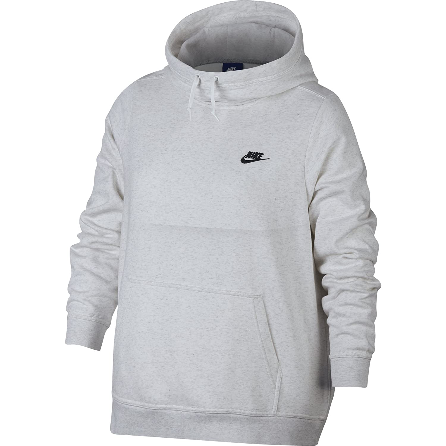baf9940a4160 Amazon.com  NIKE Sportswear Women s Plus Club Funnel-Neck Hoodie  Sports    Outdoors