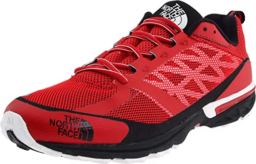 The North Face Men's Sneakers TNF Ultra Running Trainers Red