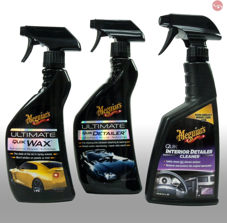 Meguiar S Bundle Meguiars Utimate Quik Detailer Quik Interior Detailer Ulimate Quick Wax Auto