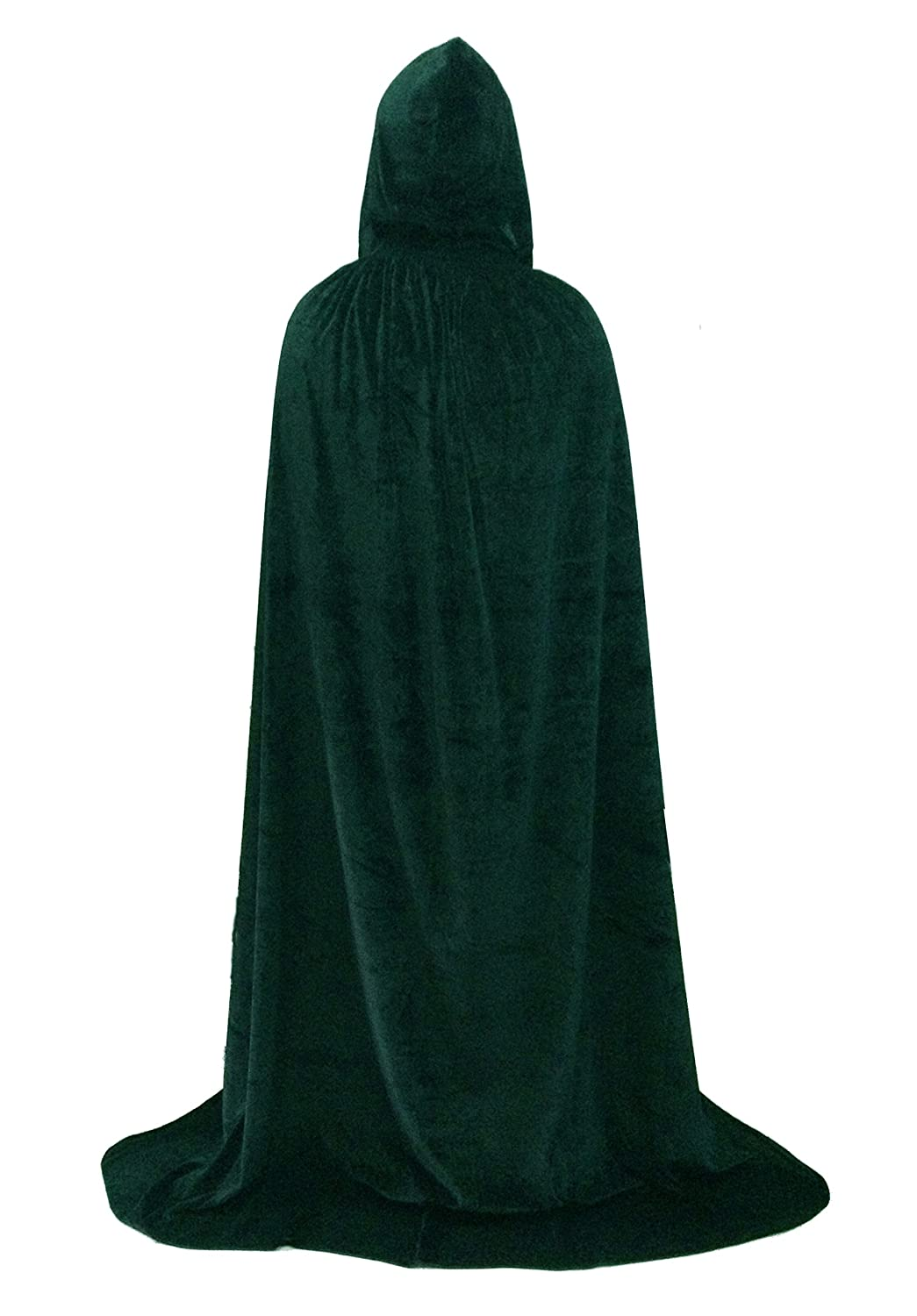 Beautifulfashionlife Unisex Hooded Cloak Role Cape Family Robes Costumes Full Length Hh12