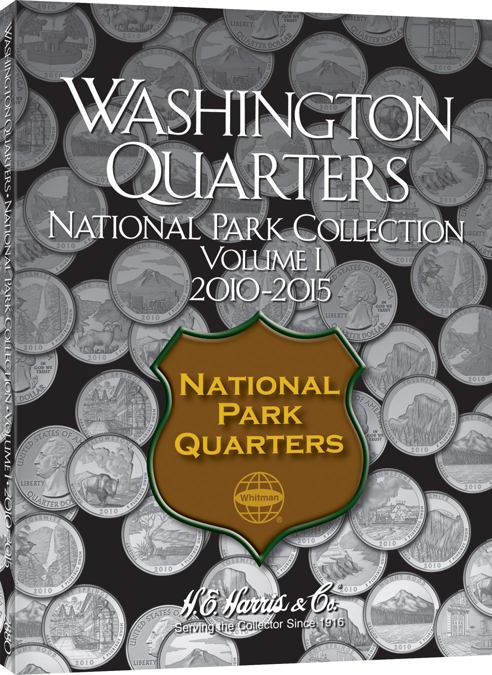 - H.E COIN COLLECTOR/'S MAP NATIONAL PARK QUARTERS 2010-2021 HARRIS BRAND