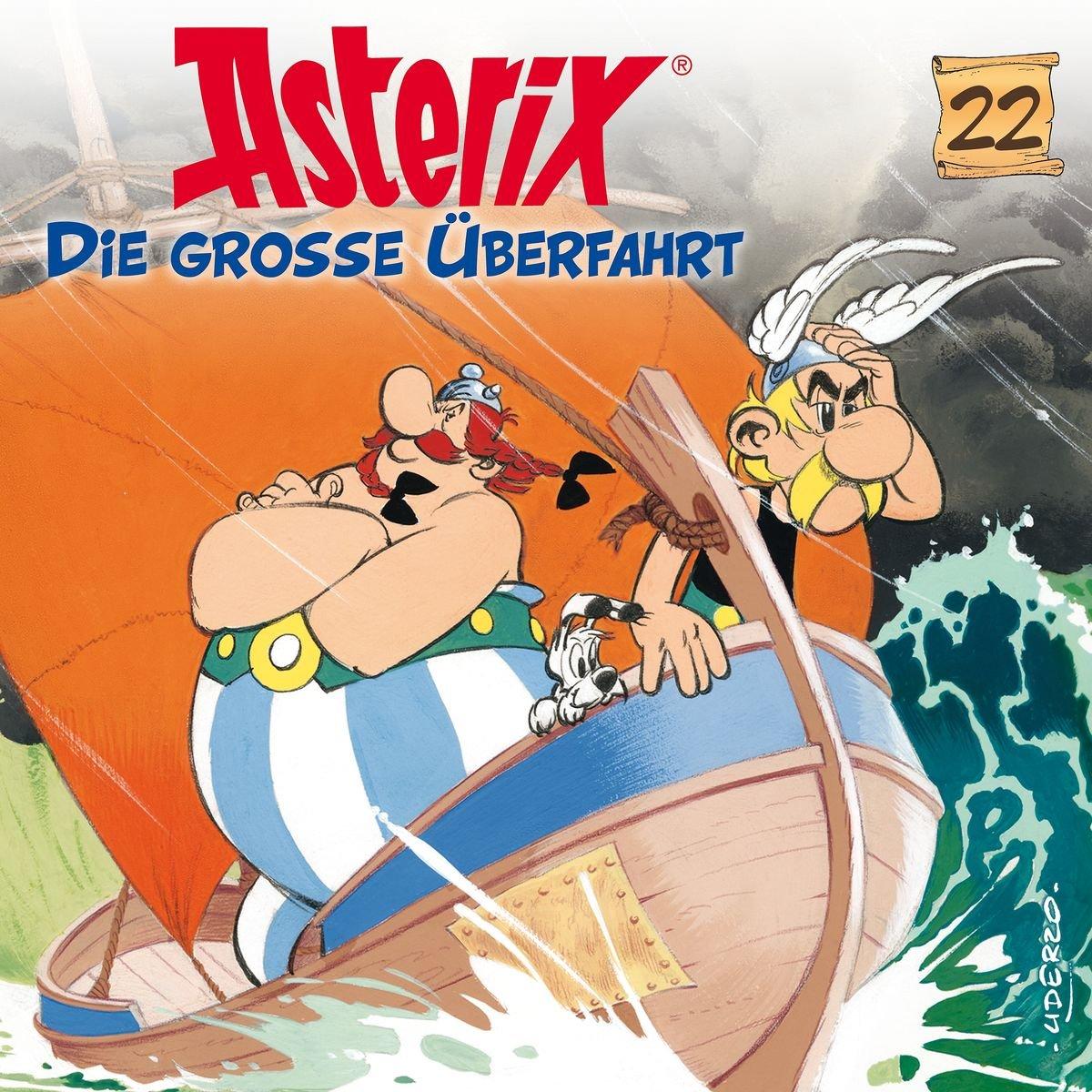 Asterix (22) Die große Überfahrt - Karussell 2017