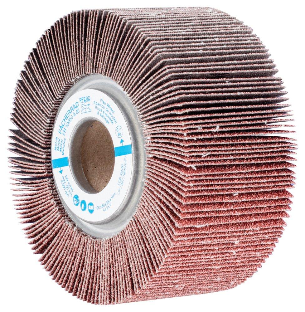 "6/""x1/""x1/"" Abrasive Flap Grinding Wheel Sanding Disc Aluminum Oxide 60~600 Grit"