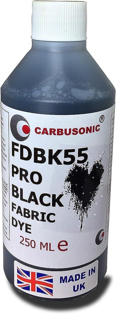 Carbusonic tinte líquido para tejidos (negro, ropa, Denim ...