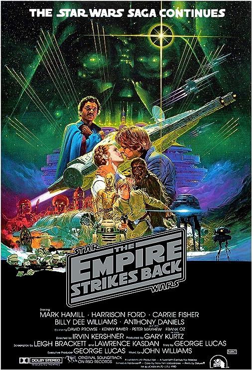Premium Poster Paper Star Wars Episode VILARGE 24X36 MOVIE POSTER