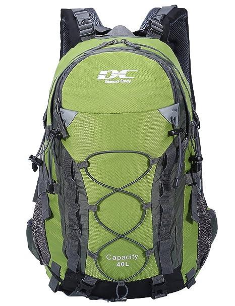 acquisto economico 6a0b8 bfbb2 Diamond Candy rampicante d'escursione esterno in bicicletta impermeabile  40L zaino unisex alta capacità Daypacks borsa da viaggio sacchetto di ...