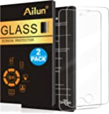 iPhone 5s Screen Protector,iPhone SE Screen Protector,[2pack]by Ailun,For iPhone 5/5c,Tempered Glass,9H Hardness,2.5D Edge,Anti-Scratch,Case Friendly-Siania Retail Package