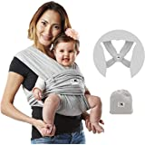 Baby K'tan Original Baby Wrap Carrier, Infant and Child Sling - Simple Pre-Wrapped Holder for Babywearing - No Tying or…