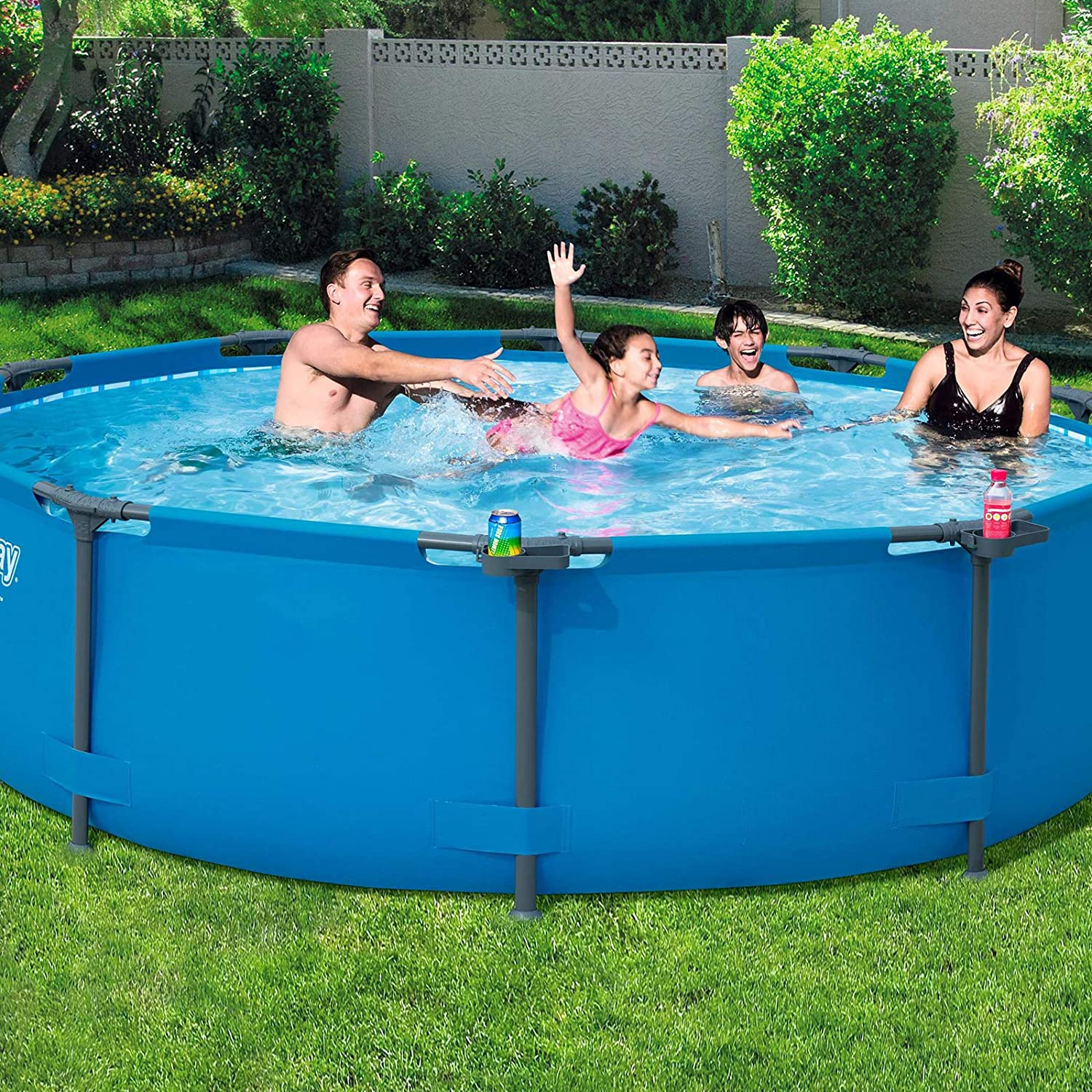 Piscina Steel Pro MAX cm. 305 x 76 cm, Color