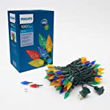 Philips 100 LED multicolor facetado C6 cuerda de luz, multicolor