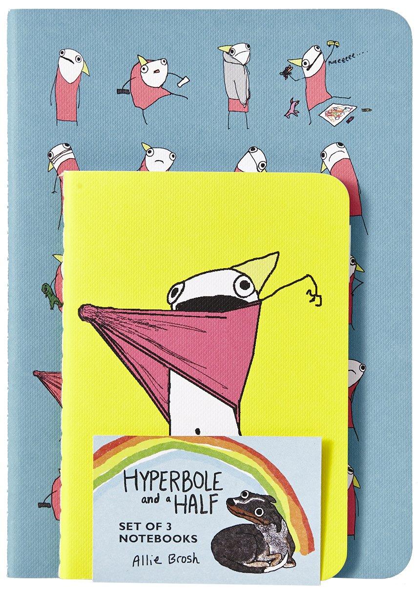Hyperbole and a Half Notebooks (Set of 3): Allie Brosh: 9781419715730:  Amazon.com: Books