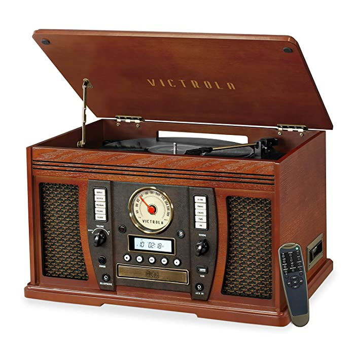 Victrola Aviator: 8-in-1 Bluetooth turntable