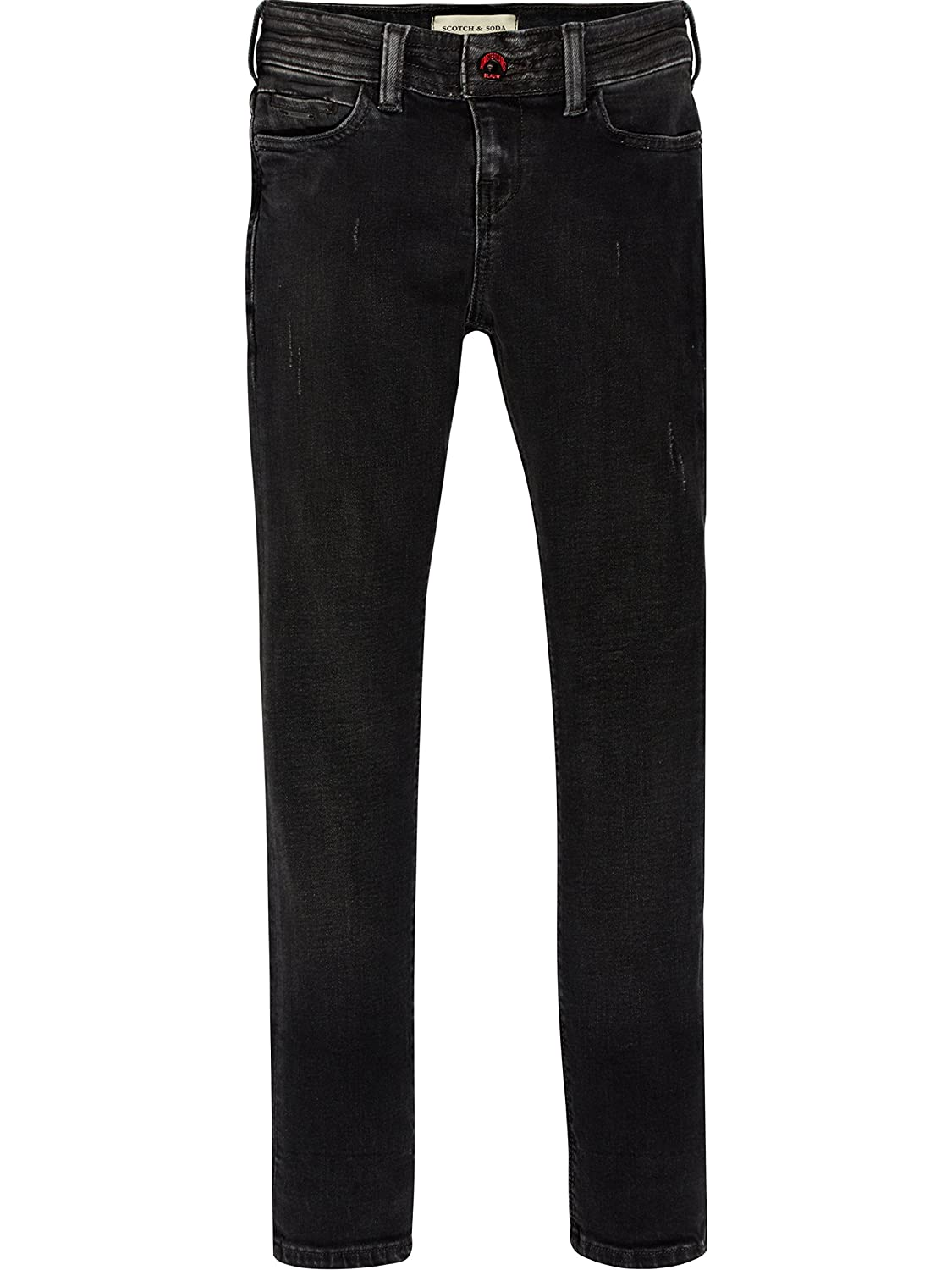 Scotch & Soda Seasonal Skinny-Black Jack, Jeans Bambino Nero 1817 104 Scotch & Soda Shrunk 143141