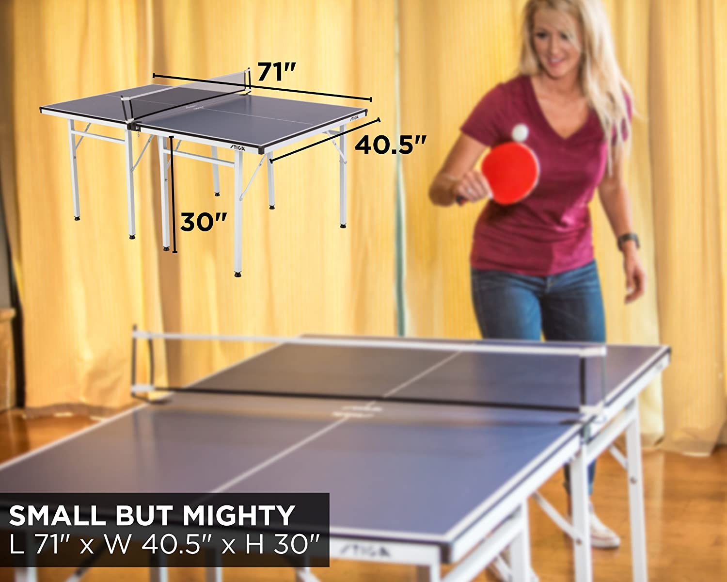 Stiga Space Saver Table Tennis Table In Depth Review Update