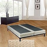 Continental Sleep Fully Assembled 5-Inch Split Box Spring For Mattress, Full