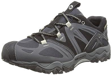 d80e8634345 Merrell Grassbow Sport Gore-Tex, Men's Hiking Shoes, Black (Black/Silver