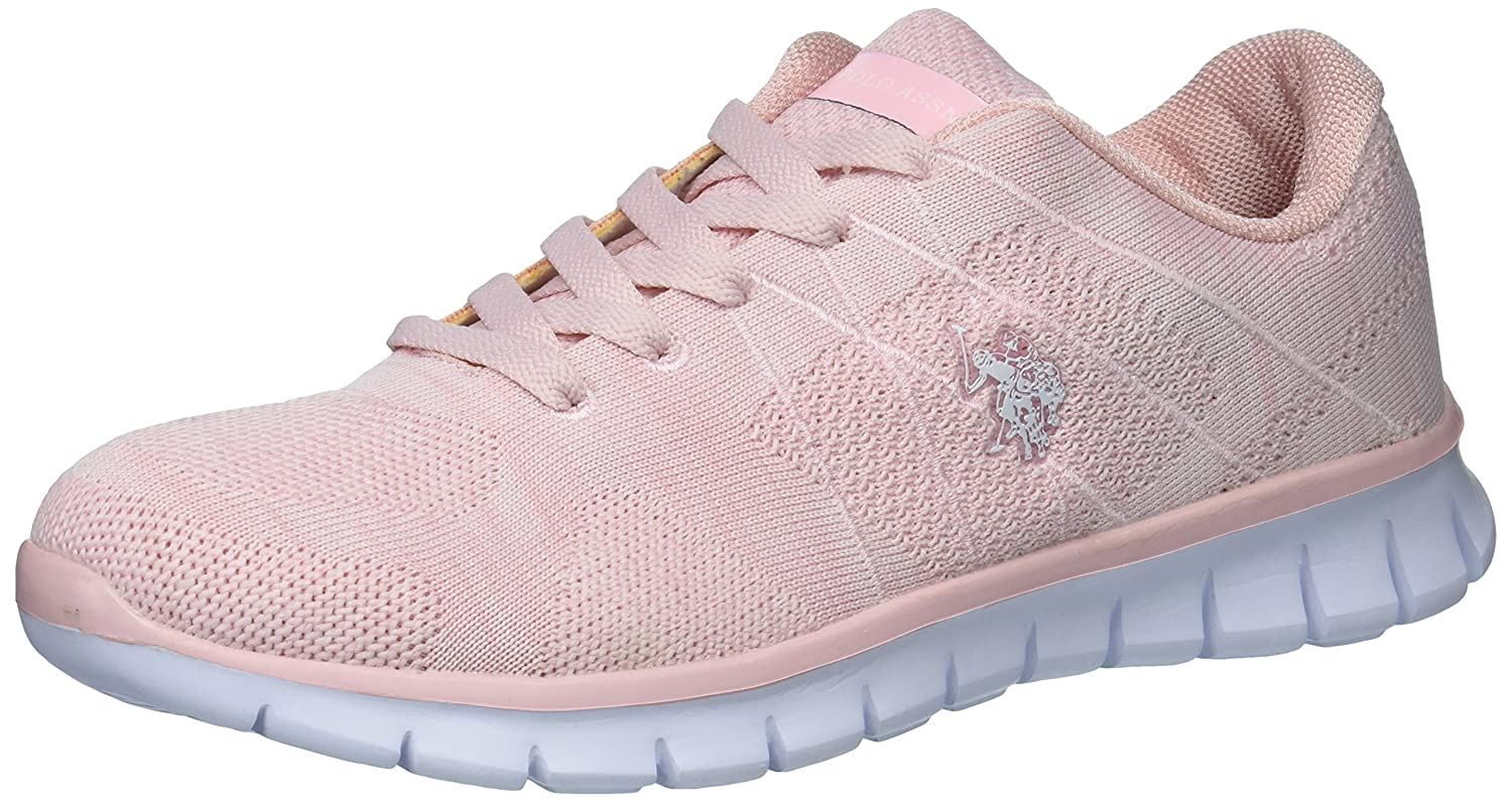 U.S. Polo Assn. Women's Women's Cora2 Fashion Sneaker B075SSDXVJ 7.5 B(M) US|Light Pink