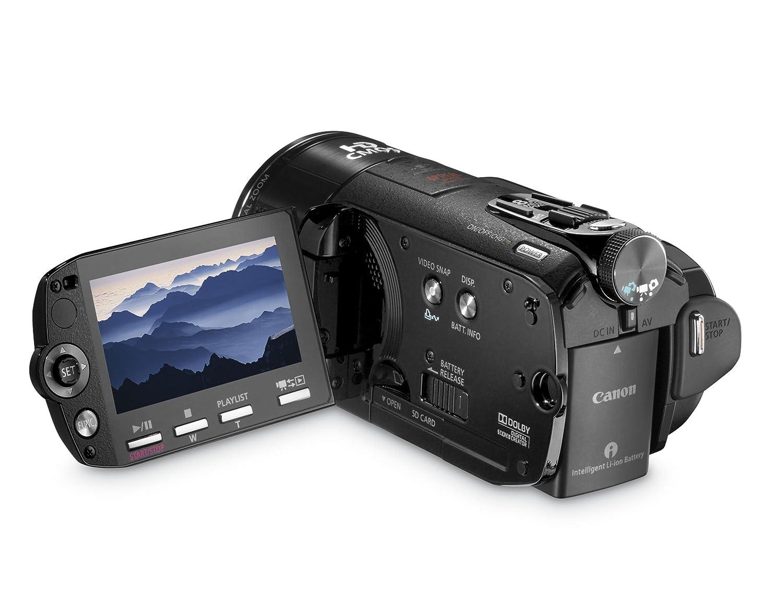 Amazon.com : Canon VIXIA HFS10 HD Dual Flash Memory w/32GB Internal Memory  & 10x Optical Zoom - 2009 MODEL (Discontinued by Manufacturer) : Flash  Memory ...