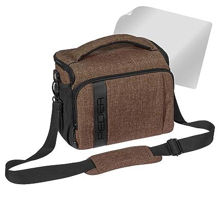 Bolsa para cámara Fashion, para Nikon D750, D800, D3100, D5100 y Canon EOS 77D, 70D, 760D, 1200D, 5D Mark III: Amazon.es: Electrónica