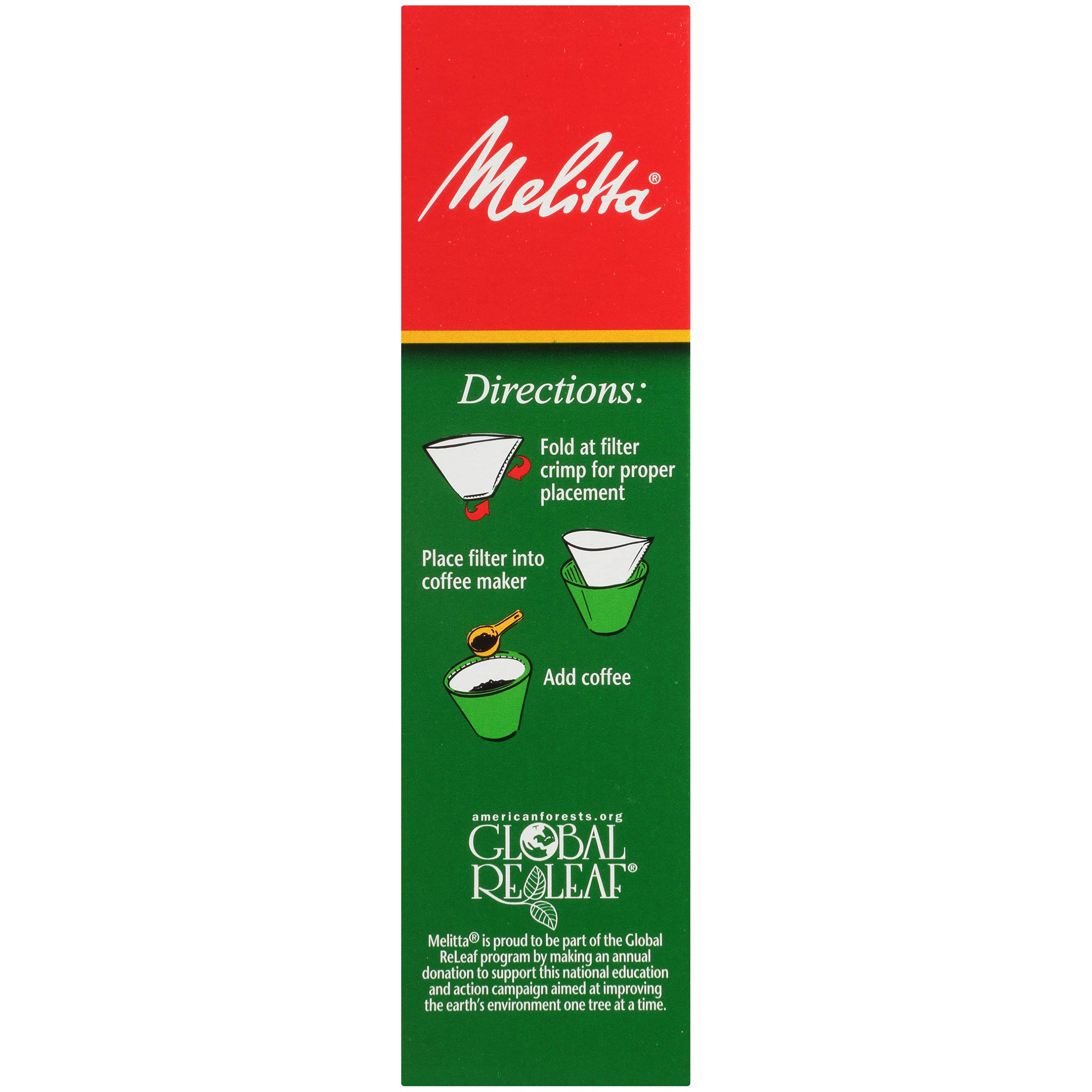 Melitta (624102C) #4 Super Premium Cone Coffee Filters, White, 100 Count (Pack of 12) Replacement Coffee Maker Filters by Melitta (Image #5)
