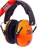 Edz Kidz Ear Defenders (Tangy Orange Gloss)