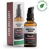 Barbe: Beard Oil bartöl (50ml)–Cosmétique naturel Naturel de la Brooklyn Soap Company Idée Cadeau pour un cadeau Hommes–Barbe Styling Barbe de 3Jours, vollbart ✔ weicherer Barbe, moins de démangeaisons