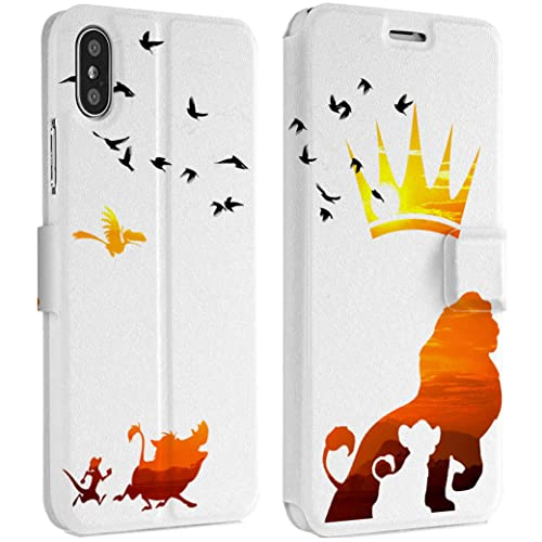 newest e4339 442b7 Amazon.com: Wonder Wild Lion King IPhone Wallet Case X/Xs Xs Max Xr ...