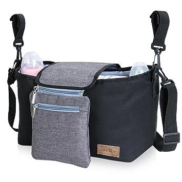 Amazon.com: Bolsa de Pañales Negro: Baby