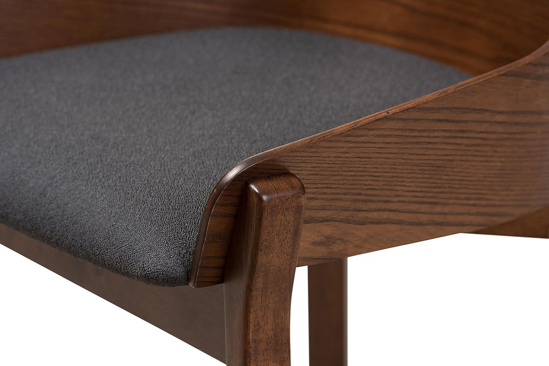 Amazon.com - Baxton Studio Beatta Mid-Century Modern Walnut Wood ...