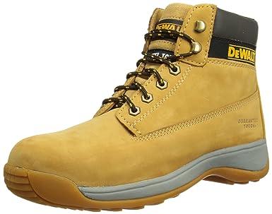 Safety Boots , Honey Nubuck , 3 UK