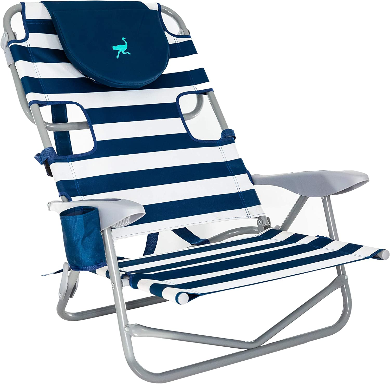 Ostrich OYB-1003S Back Chair, Striped