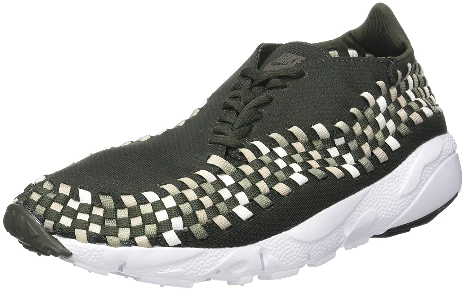 Nike Air Footscape Woven Nm, Herren Gymnastikschuhe, Grün