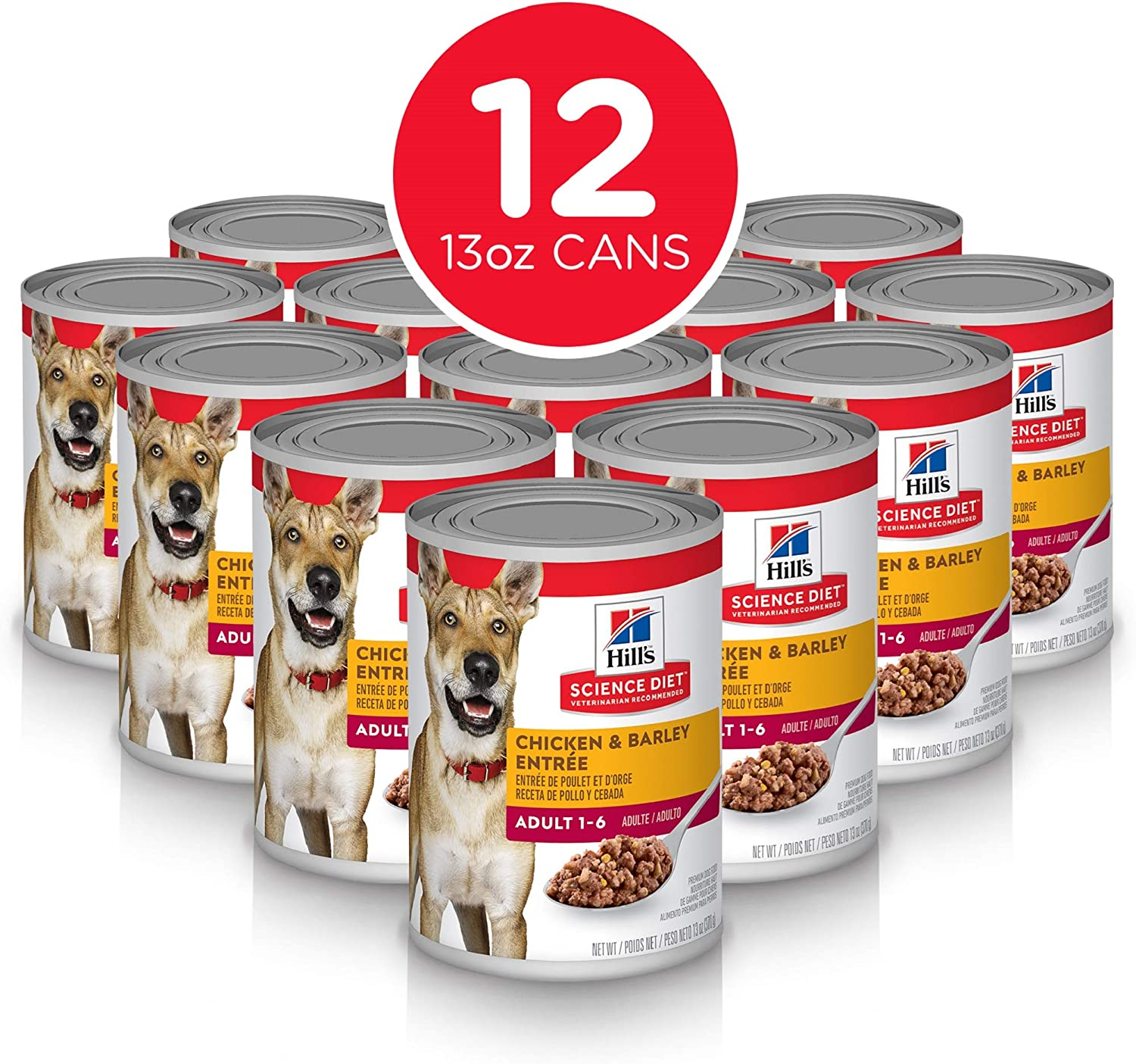 Hill S Science Diet Wet Dog Food Adult Chicken Beef Recipe With Diet Wet Dog Food Adult Chicken Barley Recipe Diet Wet Dog Food Adult Beef Barley Recipe Canned
