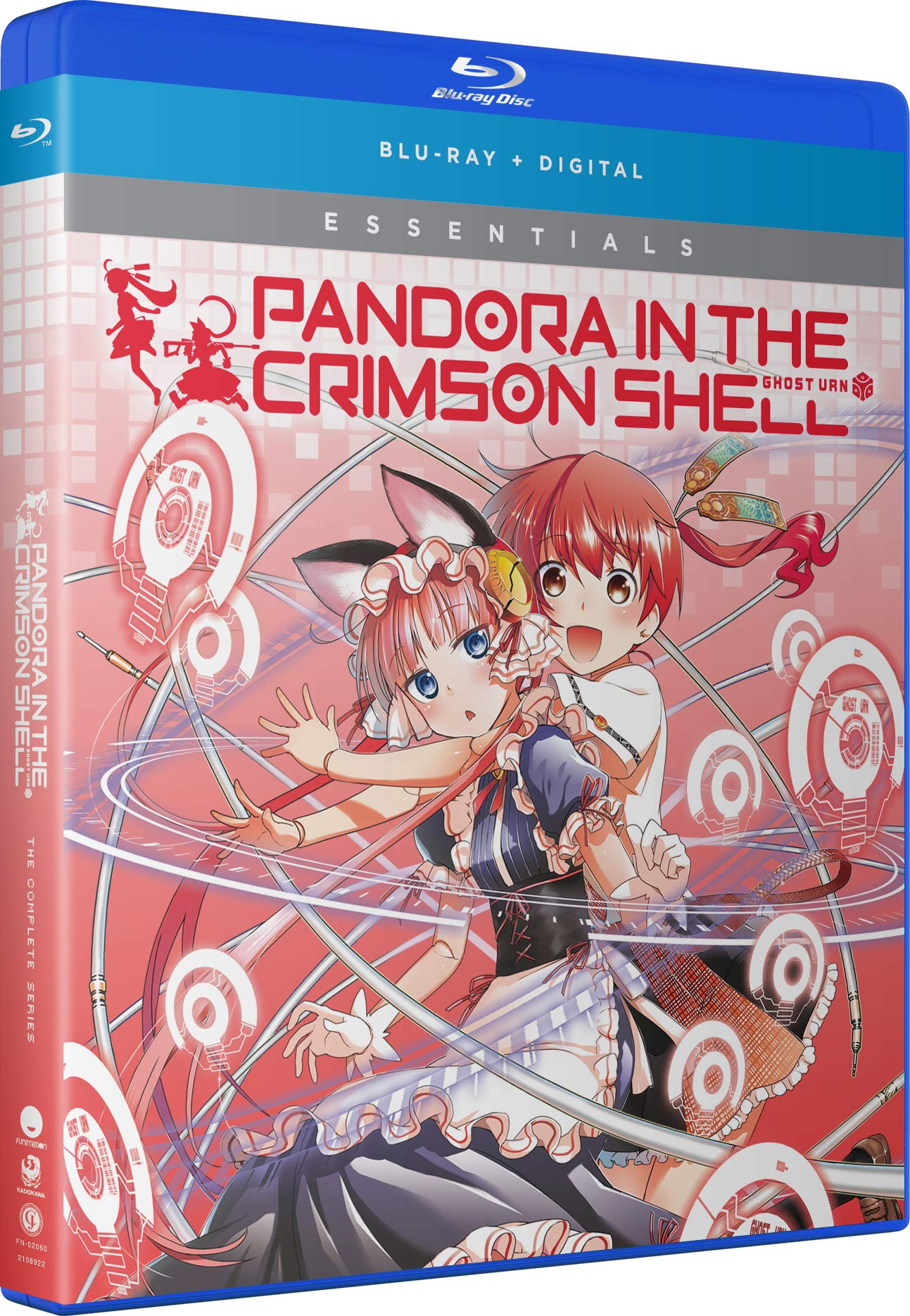 Blu-ray : Pandora In The Crimson Shell Ghost Urn: The Complete Series (2 Pack, Digital Copy, Subtitled)