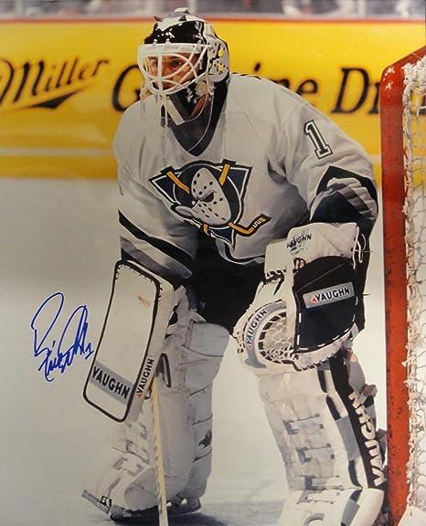 Ron Tugnutt Hand Signed Autographed 16x20 Photograph Mighty Ducks Goalie e25759e6e